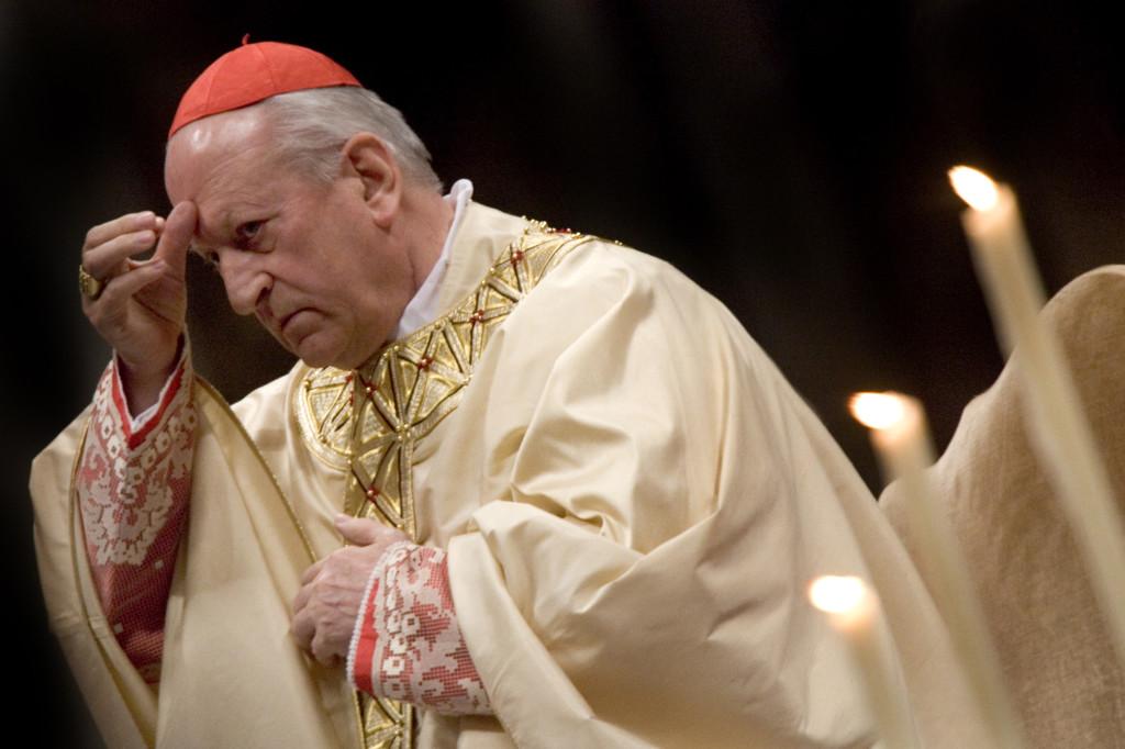 Italy - Religion - Slovenian Cardinal Franc Rode