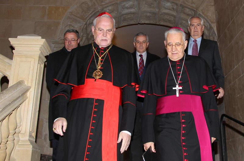 Cardenal Amigo en San Isidoro. León. 12 - diciembre - 2012. Secundino Pérez