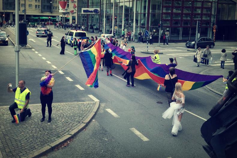 Stefan Johansson preparando una marcha con la RSFL (Facebook de S. Johansson).