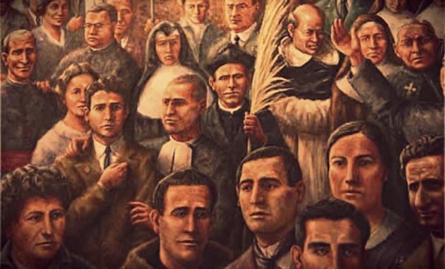 mártires del siglo xx